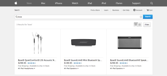 Apple-Store-US-Bose