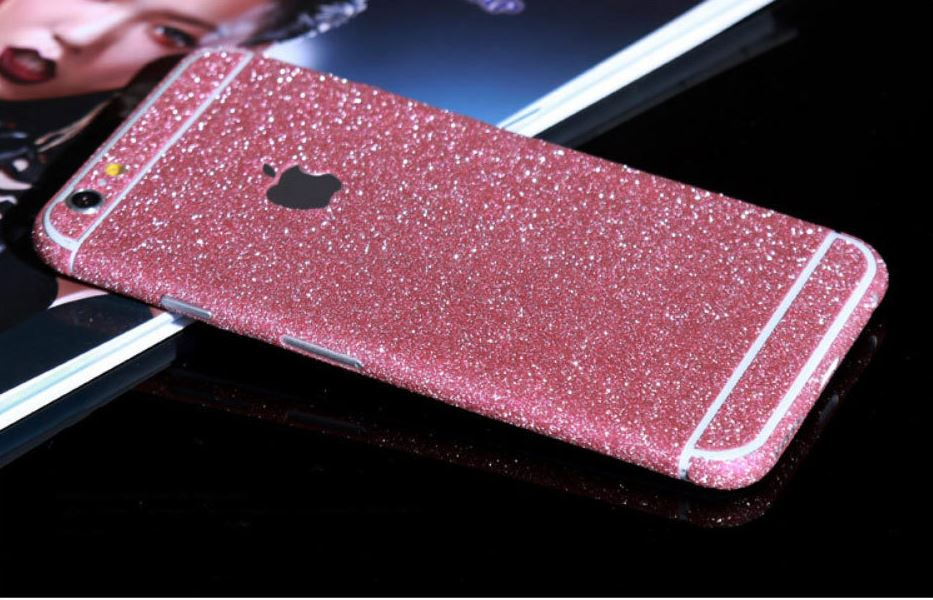coque iphone 6 rose paillette